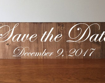 Engagement Sign//Save the Date//Rustic Engagement Sign//Rustic Save the Date//Engagement//Save the Date Announcement Sign