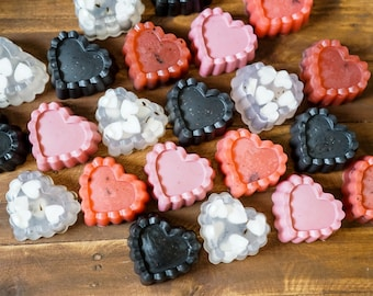 Heart Soaps (set of 3)