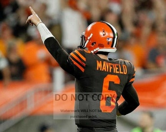 Baker Mayfield Cleveland Browns Quarterback - 5X7, 8X10 or 11X14 Sports Photo (WW028)