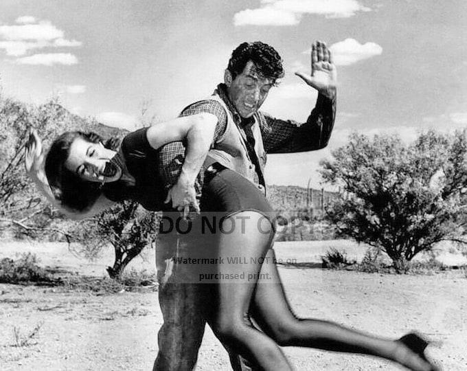 "Dean Martin ""Spanking"" Angie Dickinson on the set of ""Rio Bravo"" - 8X10 Photo (OP-112)"