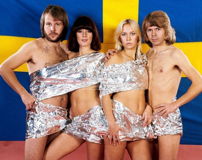ABBA Legendary Swedish Pop Music Group - 5X7, 8X10 or 11X14 Publicity Photo (CC-835)