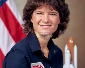 Astronaut Sally Ride America's First Woman in Space - 5X7, 8X10 or 11X14 NASA Photo (AA-849)