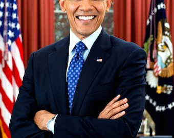 Barack Obama 44th President of the United States - 5X7, 8X10 or 11X14 Photo (AA-770)