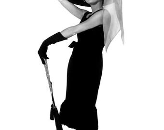 "Audrey Hepburn in Film ""Breakfast at Tiffany's"" - 5X7, 8X10 or 11X14 Publicity Photo (NN-218)"