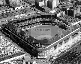 Ebbets Field in Brooklyn, New York Circa 1947 - 8X10 or 11X14 Sports Photo (CC643)