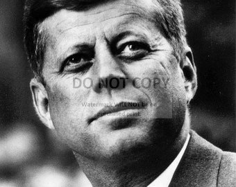 John F. Kennedy 35th President of the United States - 5X7 or 8X10 Photo (EP-844)