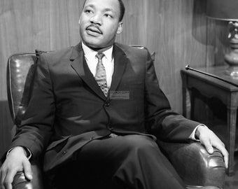 "Dr. Martin Luther King on ""Washington Conversation"" - 8X10 or 11X14 Photo (AZ-027)"