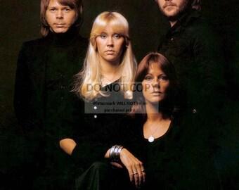 ABBA Legendary Swedish Pop Music Group - 5X7 or 8X10 Publicity Photo (ZZ-973)