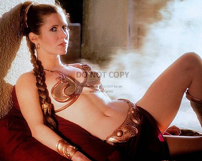 "Actress Carrie Fisher as ""Princess Leia"" in the Film ""Return of the Jedi"" Pin Up - 8X10 or 11X14 Publicity Photo (FB-155)"