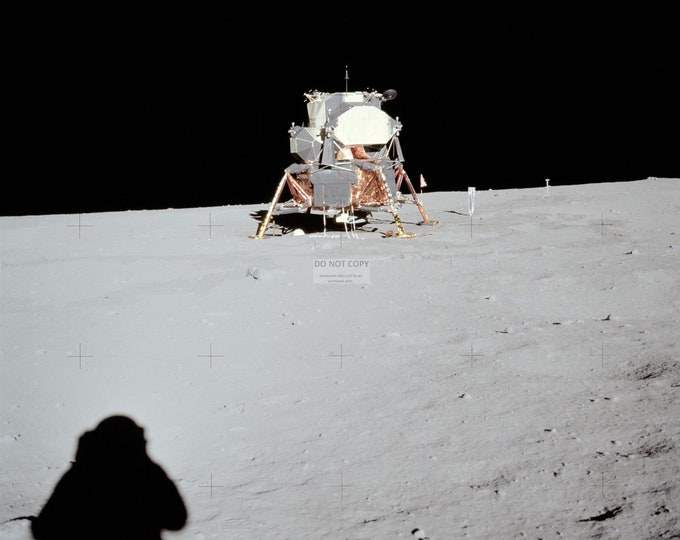 "View of Apollo 11 Lunar Module ""Eagle"" at Tranquility Base - 5X7, 8X10 or 11X14 NASA Photo (AA-767)"