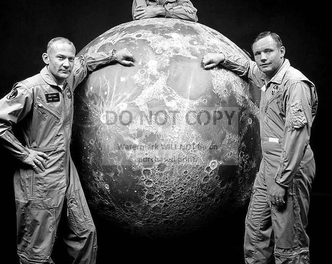 Neil Armstrong, Buzz Aldrin & Michael Collins Apollo 11 Astronauts - 8X10 Photo (ZZ-639)