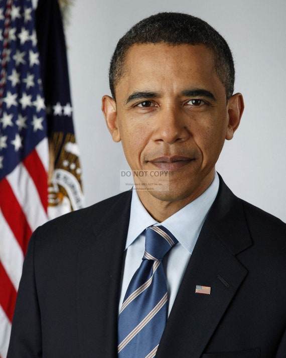 High Quality 8x10 Photograph FREE SHIPPING President Barack Obama