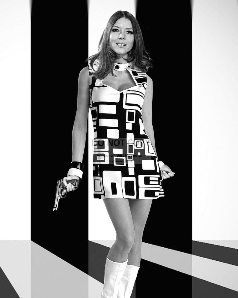 Diana Rigg as Emma Peel in the TV Show The image 0