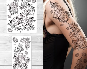 Flower Tattoos Sleeve Designs