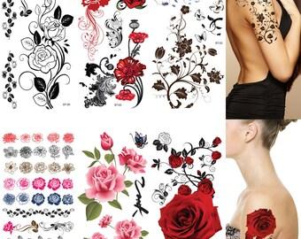Vine Tattoos Etsy