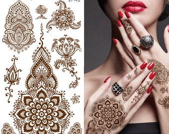 Supperb Temporary Tattoos - Inspired Henna II
