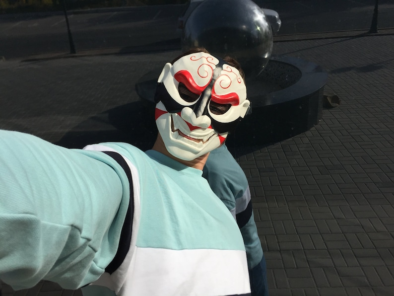 Oni mask from GTA 5 online Halloween