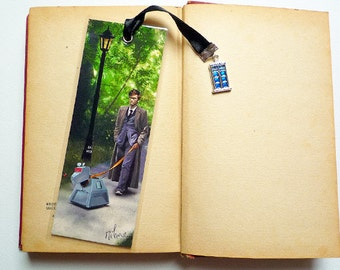 Doctor Who K9 - illustrated, laminated, and bookmark handmade