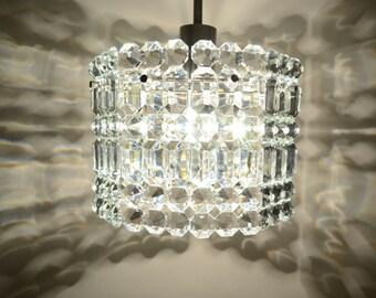 Eclairage Lustres, plafond éclairage, lustre de cristal de verre, milieu du siècle l'éclairage.