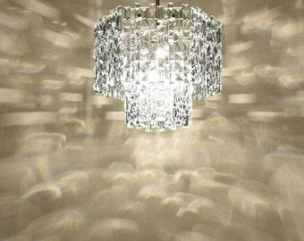Vintage Chandelier - 18 Сrystal Pendants - Crystal chandelier lighting