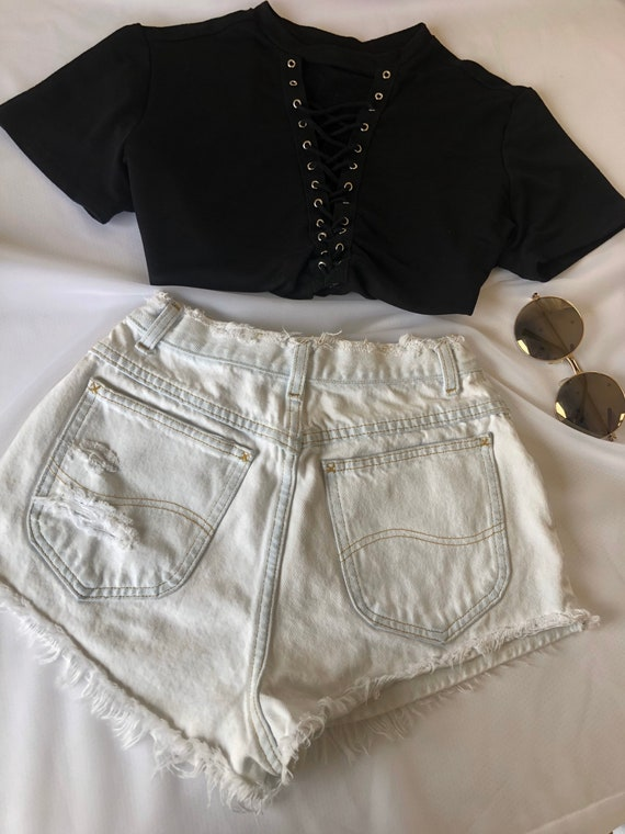 Vintage Cut Off Shorts Lee