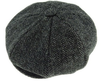 b7e238e584a Glen Appin Harris Tweed Baker Boy Cap
