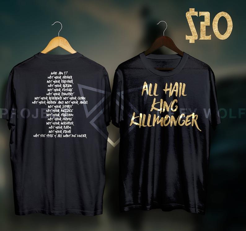 ea84909ab All Hail King Killmonger Black Panther Shirt