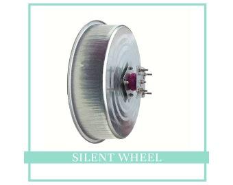 "Pet Revolution SILENT Chinchilla Wheel, 16"" Small Animal Exercise Wheel,  Silent Wheel"