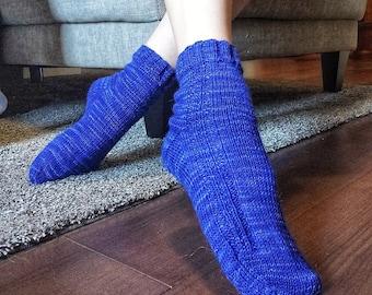 The Need For Bead Socks - KNITTING PATTERN // knit sock pattern, stockinette socks, beaded rib pattern, girls, women, men, unisex, knitting