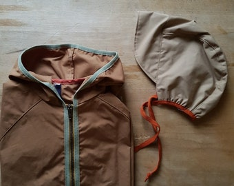 Weather jacket for transition, summer and winter