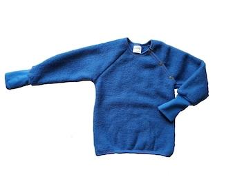 Children's sweater in merino wool fleece