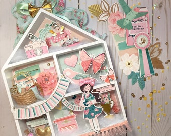 Chasing Dreams Dollhouse Shadow Box