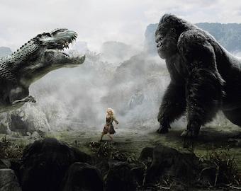 King Kong Edible Image/Cake Topper