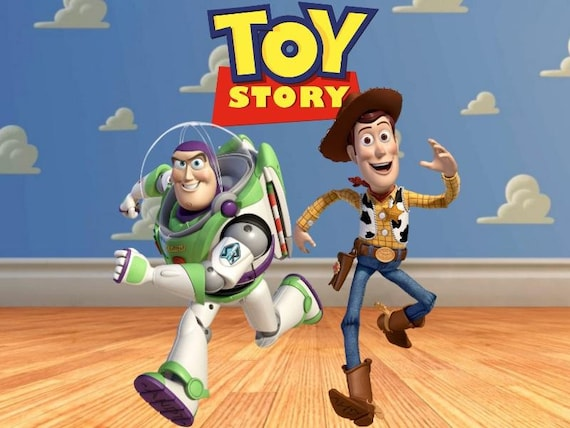 Toy Story Edible Image Cake Topper Etsy