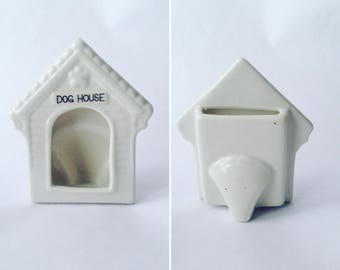 Small Dog House Picture Frame