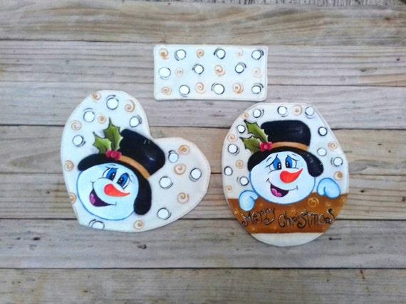 Prime Christmas Toilet Seat Cover And Rug Set Christmas Toilet Seat Snowman Toilet Lid And Tan Cover Batnroom Set Decor Christmas Bath Mats Pabps2019 Chair Design Images Pabps2019Com