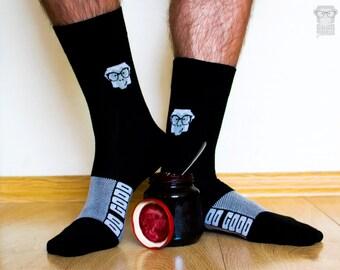 Men/'S Gift Men/'S Socks Women/'S Gift Women/'S Socks Socks Unisex Clothing Oliver Lake Iota Illustration Plant Lyfe Unisex Socks