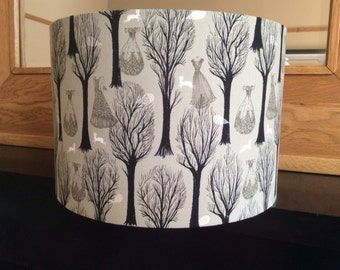 30cm drum table lampshade