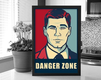 Archer: Sterling Archer Change Poster_Danger Zone