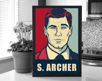 Archer: Sterling Archer Change Poster_Sterling Archer