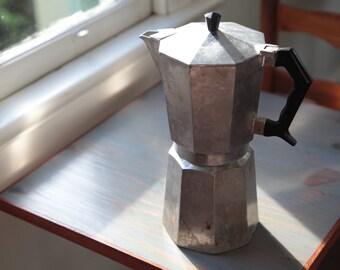 Vintage Crusinallo 16 Cup Capacity Moka Pot