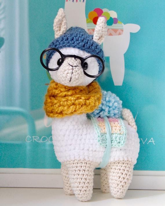 A New Amigurumi Llama Pattern | móhu | 713x570
