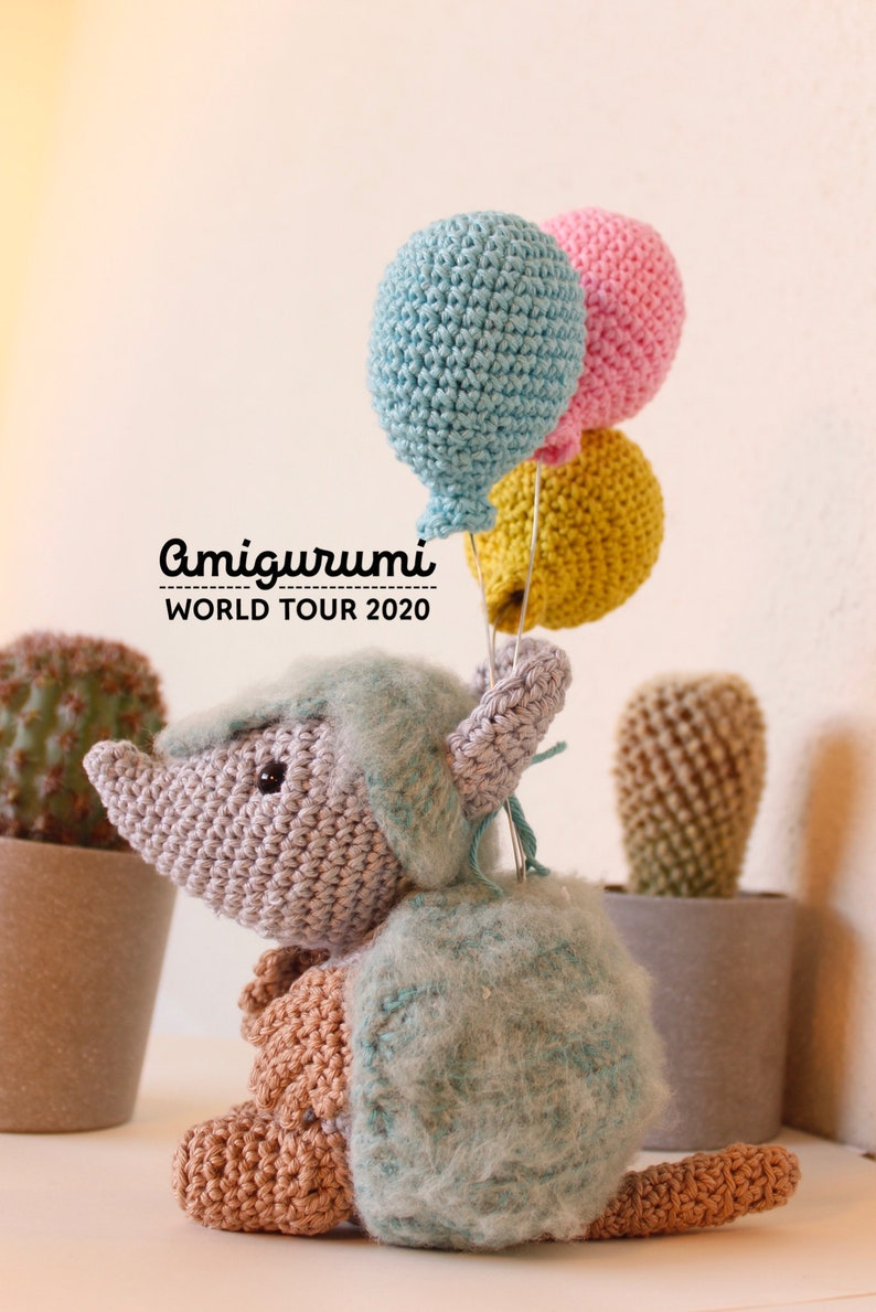 Kirk the quinquincho andean armadillo crochet pattern image 0
