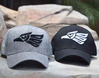 1e33d8b613d Made in Mexico Eagle Stamp Embroidered Adjustable 6 Panel Snapback Baseball  Cap - Brand New - 2 Colors - Men and Women - Gift
