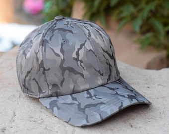 83f751489f2 New Camouflage Nylon Poly Blend Stylish Adjustable Baseball Dad Hat Cap -  For Him and Her - Great Gift - 6 Colors Available - One size