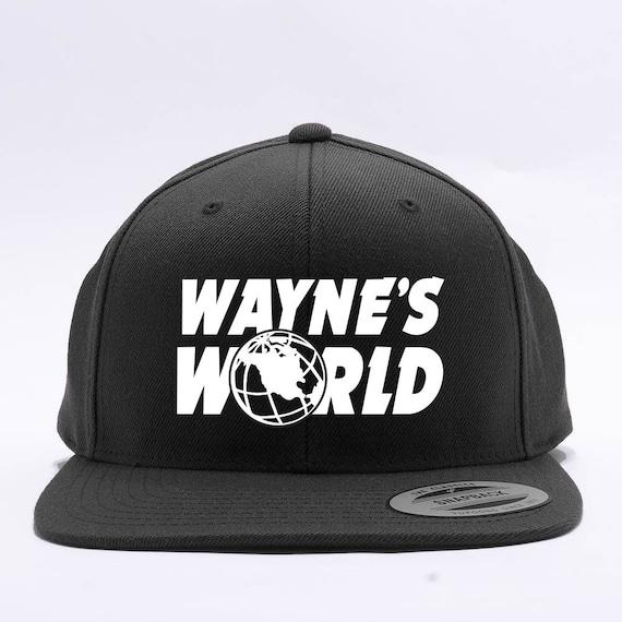Wayne s World Embroidered Party Costume Adjustable  0ebf71d9b50