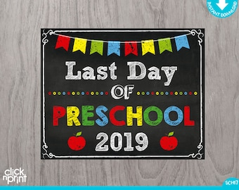 It is an image of Priceless Last Day of Preschool Printable