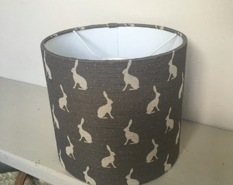 Beautiful Handmade Lampshade Made using Peony and Sage Hops(mini) Light Rain
