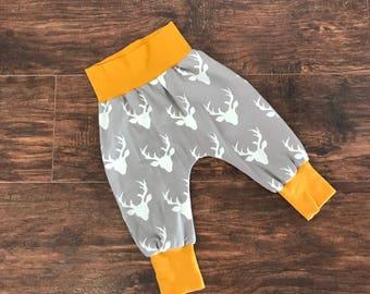 a85f88e1abde Deer head baby pants