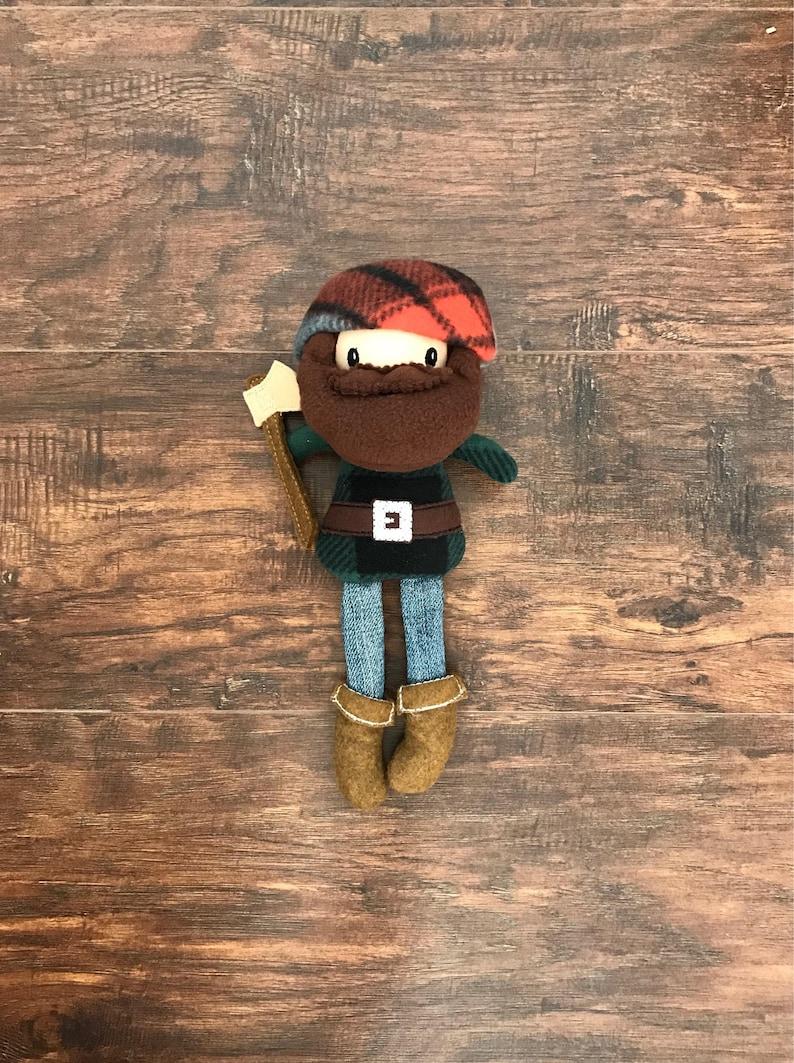 ae7e2615d45 Lumberjack Doll for Boys Lumberjack Stuffed Animal
